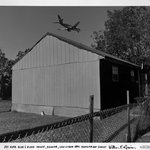 Jet Over Blue and Black House, Kenner, Louisiana