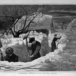 A Winter-Morning,--Shovelling Out