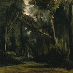 Landscape in the Forest at Compiègne