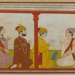 Illustration from a Madhu-Malati Series