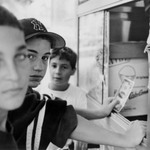 Boys at Ice Cream Truck, Staten Island, NY