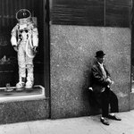 Rockefeller Center (Man and Astronaut Suit)