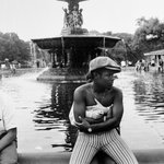 Bethesda Fountain, Central Park (Couple Embracing)