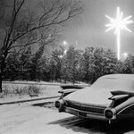 JFK Airport (Caddy and Christmas Star)
