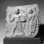 Relief of a Warrior with Attendant