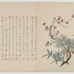 Three Auspicious Friends: Pine, Bamboo and Plum
