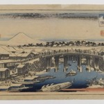 View of Nihonbashi Bridge, Edo,  (Edo Meisho)