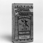 "Cigarette Box, ""Egyptian Cigarettes Mignon"""