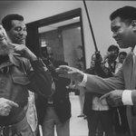Havana, Cuba - 1996, Fidel Castro, Teófilo Stevenson and Muhammad Ali