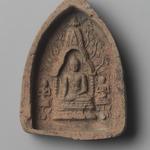 Votive Tablet Depicting Shakyamuni Buddha