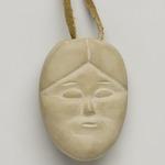 Janus-faced Amulet Head, March 1974