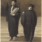 The Two Colleagues (Lawyers) (Les deux confrères [Avocats])