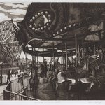 Carousel and Wonder Wheel