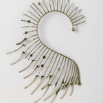 Metallic Boa Necklace