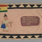 Flag of a Female Asafo Captain (Frankaa)