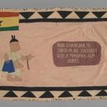 Flag of a Female Asafo Captain (Frankaa)