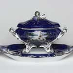 "Tureen with Cover and Under Plate, ""Madame de Pompadour (nee Poisson) Pattern"""