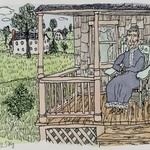 [Untitled] (Woman on Porch)