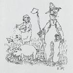 [Untitled] (Farmer, Pig, Wife)