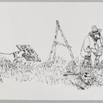 [Untitled] (Fetching Dog)