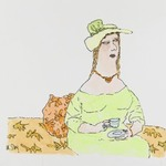 [Untitled] (Woman with Teacup)