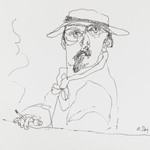 [Untitled] (Man with Cigarette)