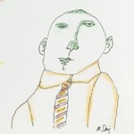 [Untitled] (Man with Tie)