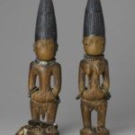 Pair of twin figures (Ère Ìbejì)