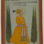 Portrait of Maharaja Ajit Singh of Marwar