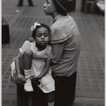 Mother and Daughter at Penn Station, NYC