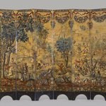 Folding Screen with the Siege of Belgrade (front) and Hunting Scene (reverse)