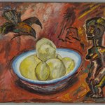 Untitled (Fang, Crow and Fruit)