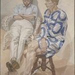 Portrait of Linda Nochlin and Richard Pommer