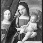 Madonna and Child with Saint Catherine of Alexandria