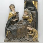 Sculptured Group of the Virgin and Child and St. Anne
