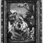 The Holy Family and Elizabeth, Zacharias and St. John