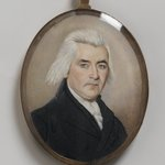 Portrait of a Gentleman/Mourning Miniature