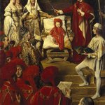 Philip I, the Handsome, Conferring the Order of the Golden Fleece on his Son Charles of Luxembourg  (Philippe Ier le Beau, conférant à son fils Charles de Luxembourg le titre de Chevalier de lOrdre de la Toison dOr)