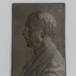 Portrait Plaque of Daniel Chester French