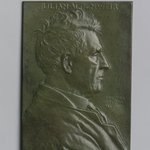 Portrait Plaque of Julian Alden Weir