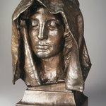 Head from the Adams Memorial