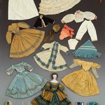 Doll and Wardrobe, Sanitary Fair