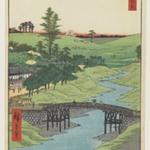 Furukawa River, Hiroo, from the series One Hundred Famous Views of Edo