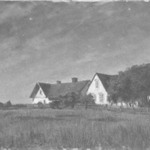 Cottages in Moonlight (Stugor i månsken)