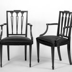 Two Mahogany Armchairs