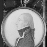 Portrait in Profile of a Young Man