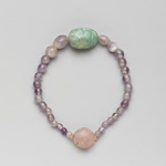 Necklace with Uninscribed Scarab