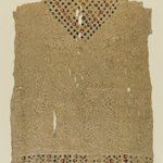 Fragmentary Tunic with Botanical Decoration