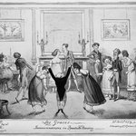 Les Graces.  Inconveniences in Quadrille Dancing