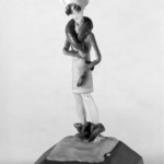 Figure of a Flapper on Snow